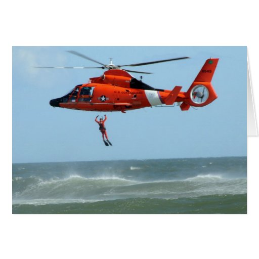 United States Coast Guard Search and Rescue Greeting Cards