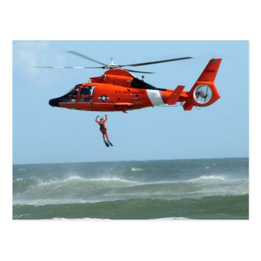 United States Coast Guard Search and Rescue Postcards