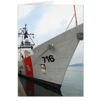 United States Coast Guard Ship Greeting Card