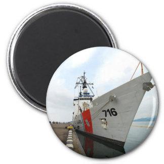 United States Coast Guard Ship Fridge Magnet