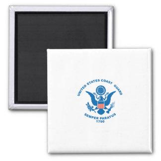 United States Coast Guard Square Magnet