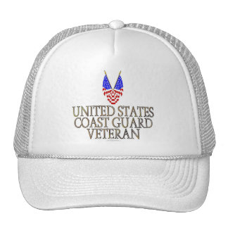 United States Coast Guard Veteran Hat