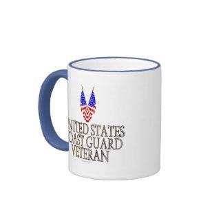 United States Coast Guard Veteran Coffee Mugs