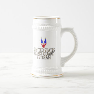 United States Coast Guard Veteran Coffee Mug