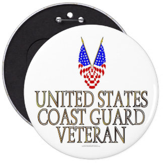 United States Coast Guard Veteran Pins