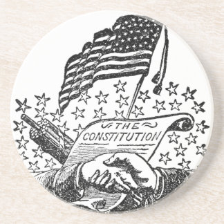 United States Constitution Coaster