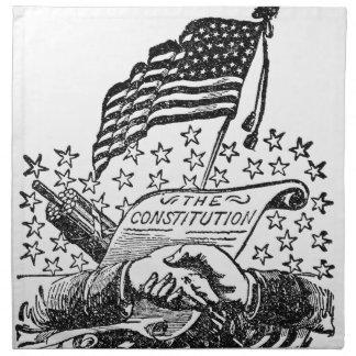 United States Constitution Napkin