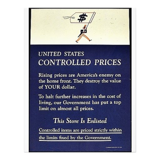 United States Controlled Prices Flyer