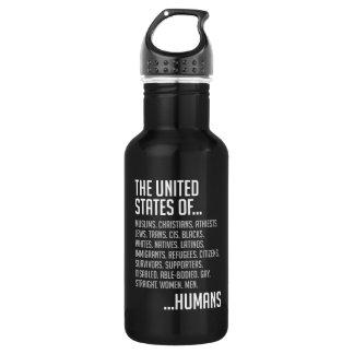 United States Dark Water Bottle
