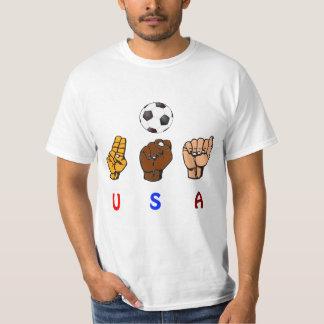 United States Deaf Women's National Soccer Team T-Shirt