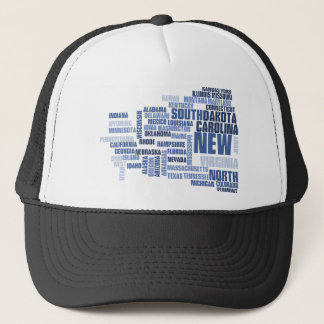 United States Divided We Fall HQ Apparel Trucker Hat