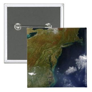 United States East Coast Button