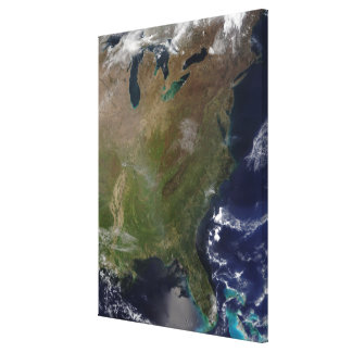 United States East Coast Canvas Print
