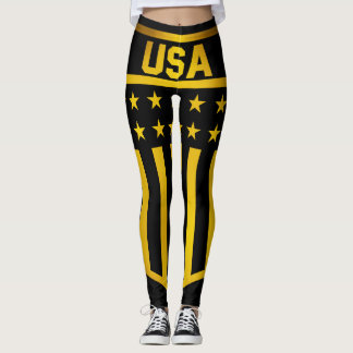 United States Emblem Leggings