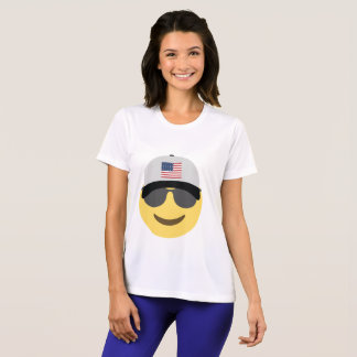 United States Emoji Baseball Hat T-Shirt