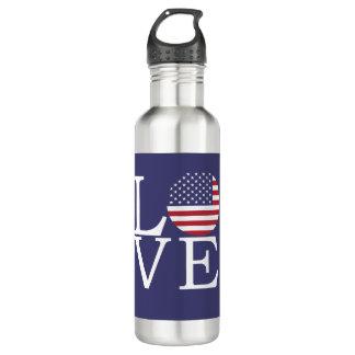 United States Flag 710 Ml Water Bottle