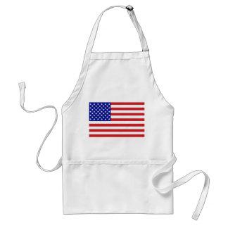 United States Flag Apron