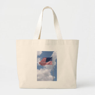 United States Flag Canvas Bag
