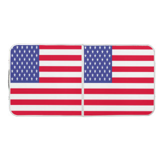United States Flag Beer Pong Table