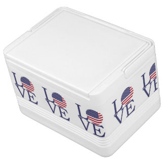 United States Flag Cooler