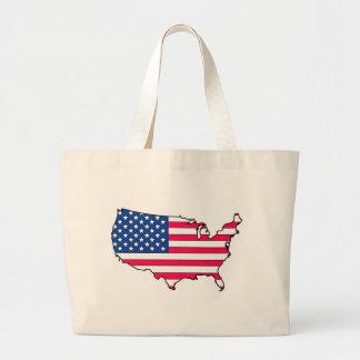 United states Flag country Jumbo Tote Bag