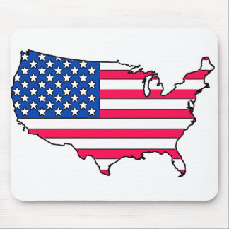 United states Flag country Mouse Pad