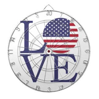 United States Flag Dartboard