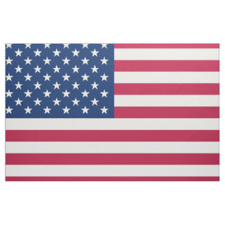 United States Flag Fabric