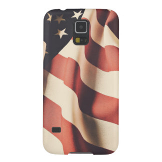 United States flag filter Galaxy S5 Cases