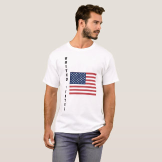 United States Flag Fun Font T-Shirt