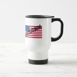 United States Flag Government Shutdown Coffee Mug
