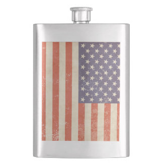 UNITED STATES FLAG HIP FLASK