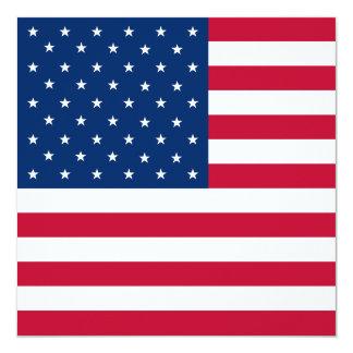 United States Flag Invitation