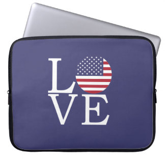 United States Flag Laptop Sleeve