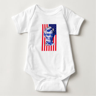 United States Flag Lincoln The MUSEUM Zazzle Shirt
