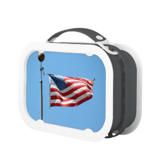 United States Flag Lunch Box