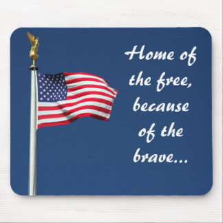UNITED STATES FLAG MOUSE PADS