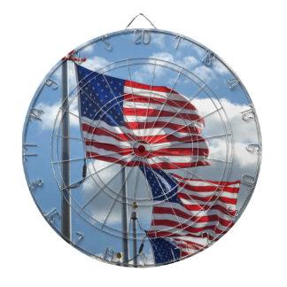United States Flag Photograph Dartboard