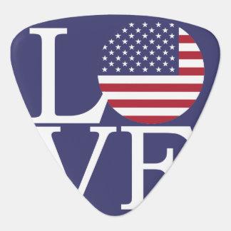 United States Flag Plectrum