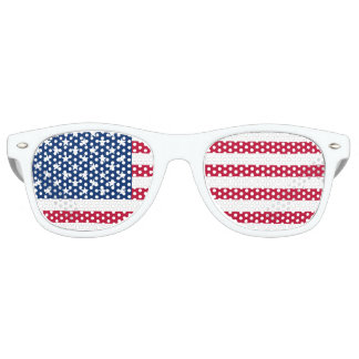 United States Flag Retro Sunglasses