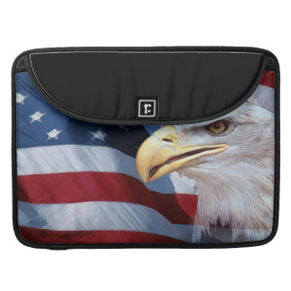 United States Flag Sleeve For MacBooks