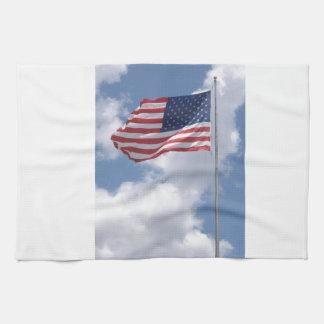 United States Flag Hand Towel