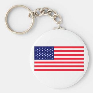United States Flag The MUSEUM Zazzle Key Chain