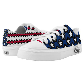 United States Flag USA Pride Low Tops