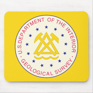 United States Geological Survey Mouse Pad