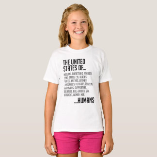 United States Girl's T-Shirt