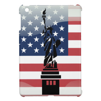 United States glossy flag Case For The iPad Mini