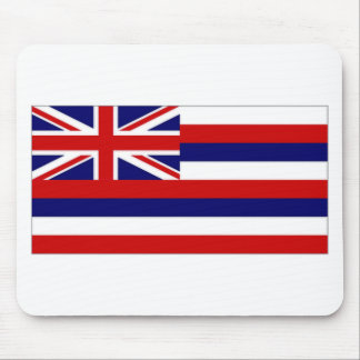United States Hawaii Flag Mouse Pads