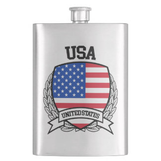 United States Hip Flask