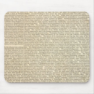 United States History Map 2 Mouse Pad